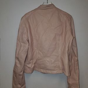 KENNA - T pink leather jacket